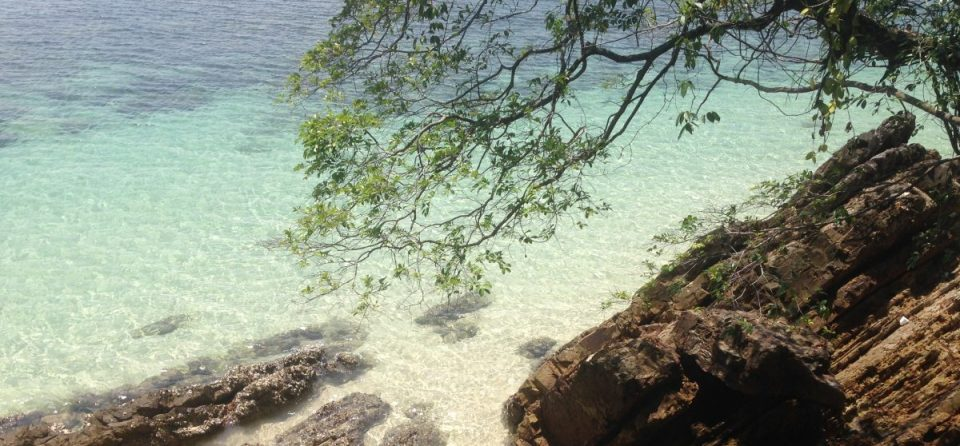 Header image for Hostel recommendation on Kapas Island, Malaysia - by Hannah Cackett, owner of Authentic Gems travel blog