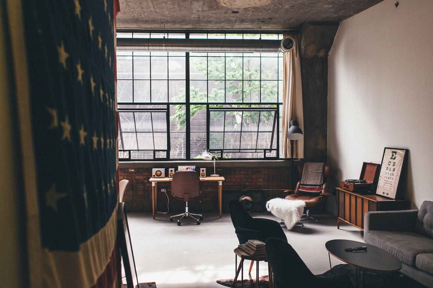Design Stay Amazing AirBnB Industrial Loft In Detroit