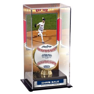 Boston Red Sox Chris Sale Fanatics Authentic 2018 MLB World Series Champions Sublimated Display Case with Image