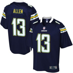 NFL Pro Line Mens Los Angeles Chargers Keenan Allen Big & Tall Team Color Jersey
