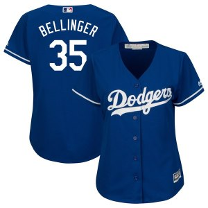 Women's Los Angeles Dodgers Cody Bellinger Majestic Royal Cool Base Replica Player Jersey
