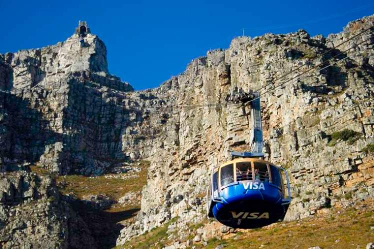 A visit up Table Mountain is a fantastic family-friendly activity in Cape Town