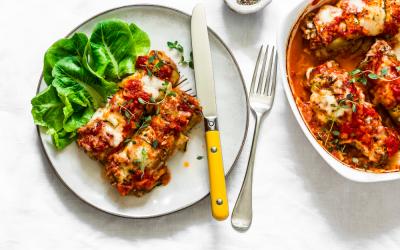 Low Carb Zucchini Enchilada Recipe