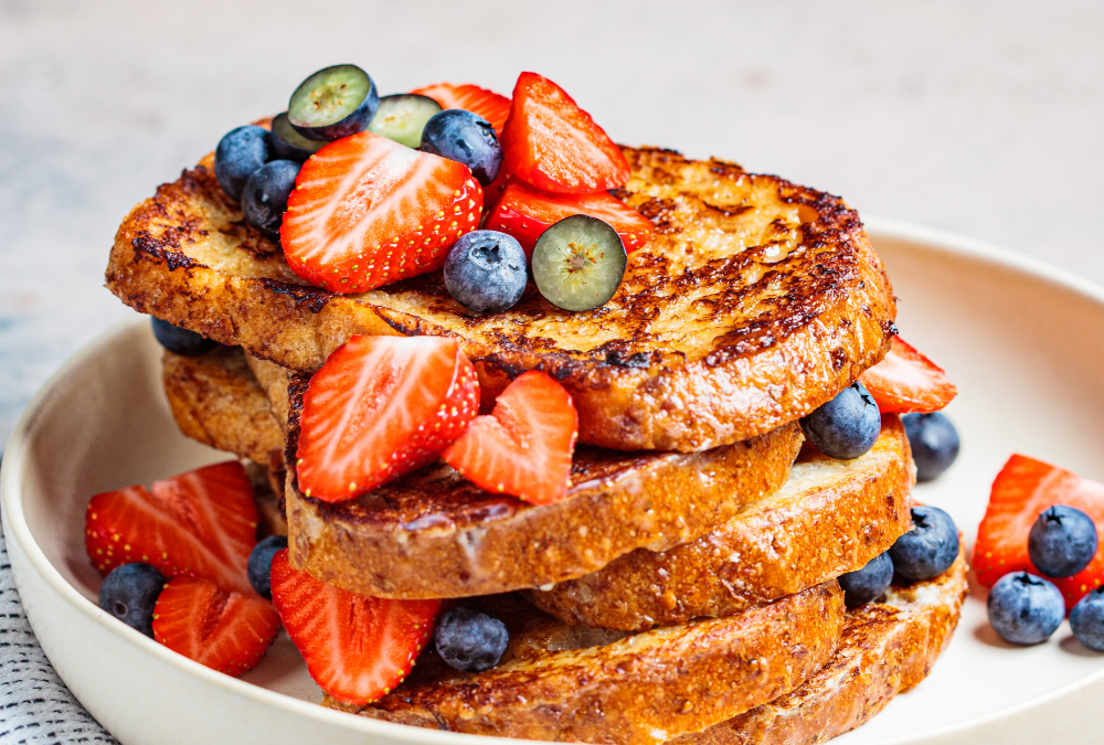 high protein french toast