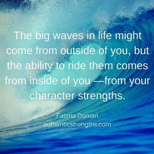 Ride The Wave To Strong Performance Authentic Strengths