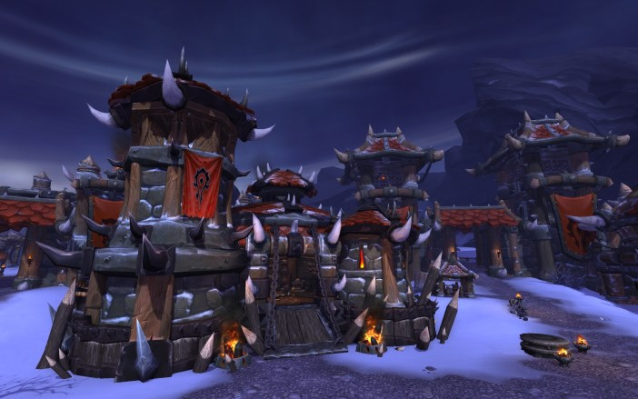 World Of Warcraft Warlords Of Draenor WoW_6.0_Horde_Barracks_v3_AD_03