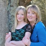 Amie and her 13 year old daughter Bethanie. Pretty girls, right?