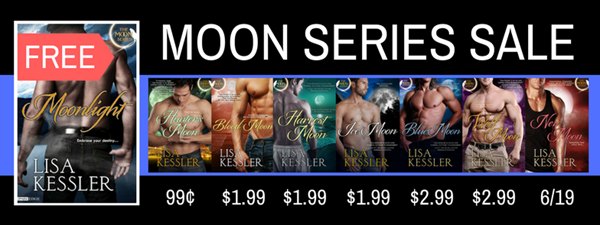 Celebrating the Final Book of the Moon Series with a SALE & a FREEBIE!!!