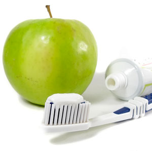 Apple Toothbrush