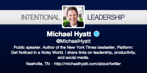 Michael Hyatt Twitter Header