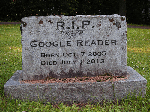 R.I.P. Google Reader: An Obituary