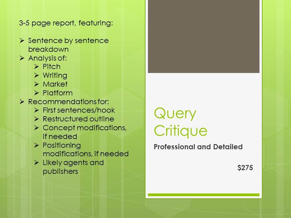 Query Critique