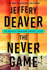 Cover of The Never Game by Jeffery Deaver