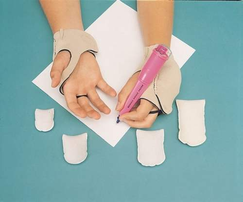 Weighted Hand Patches - Pair of Right and Left