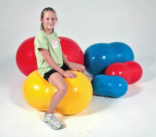 Sportime Physio-Roll Exercise Ball (33 inch - Red)