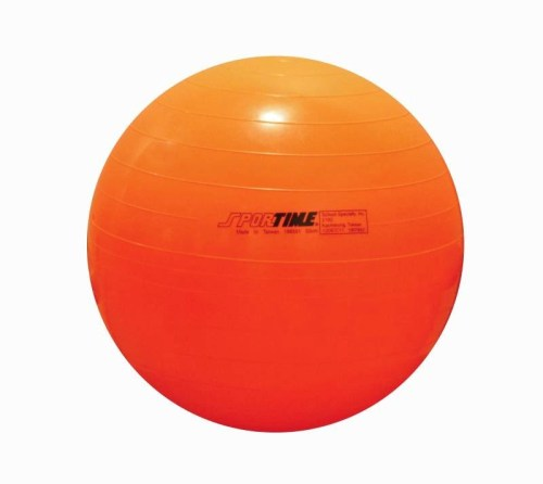 Sportime Therapy and Exercise Ball (21 1/2 inch - Orange)