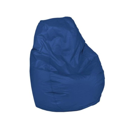 High Back Bean Bag Chair (Child Size - Blue)