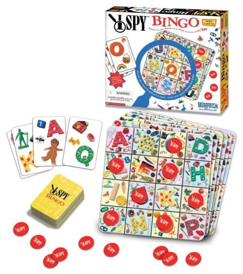 I SPY Bingo Game