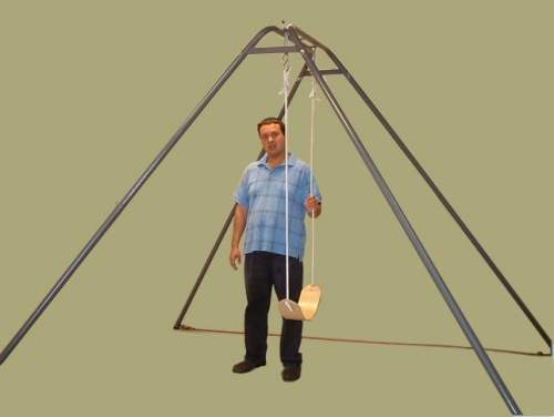 Homestand HD120 Large Portable Swing Frame