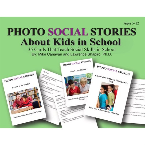Social Stories Cards About Kids in School