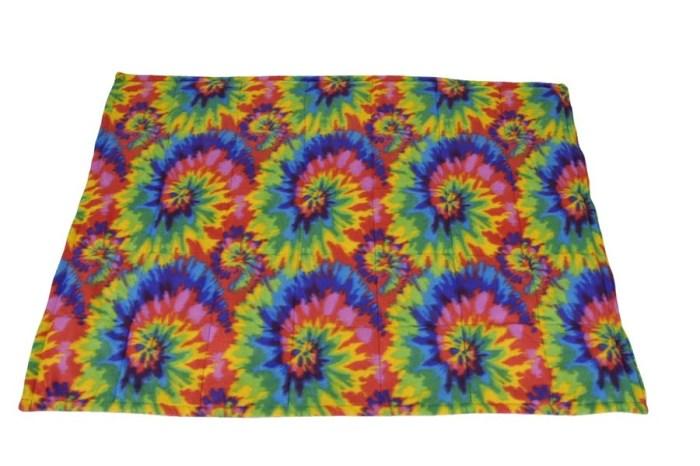 Fleece Weighted Blanket, Multi Color