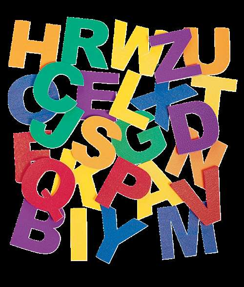 Edushape Jumbo Magnetic Foam Uppercase Letters