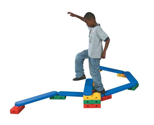 On-The-Move Climbing and Balancing System Set with Storage Bag, Set of 24
