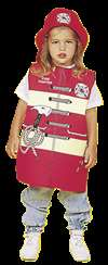 Dexter Toys Firefighter Occupations Costume