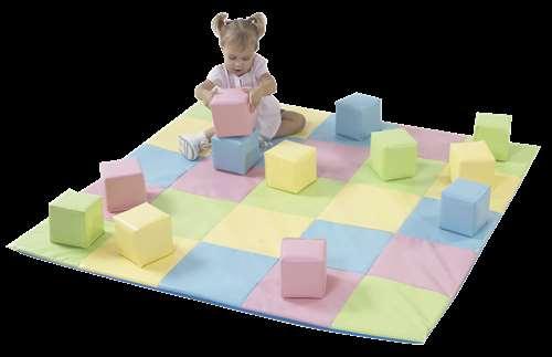 Children's Factory Checkerboard Pattern Crawly Mat