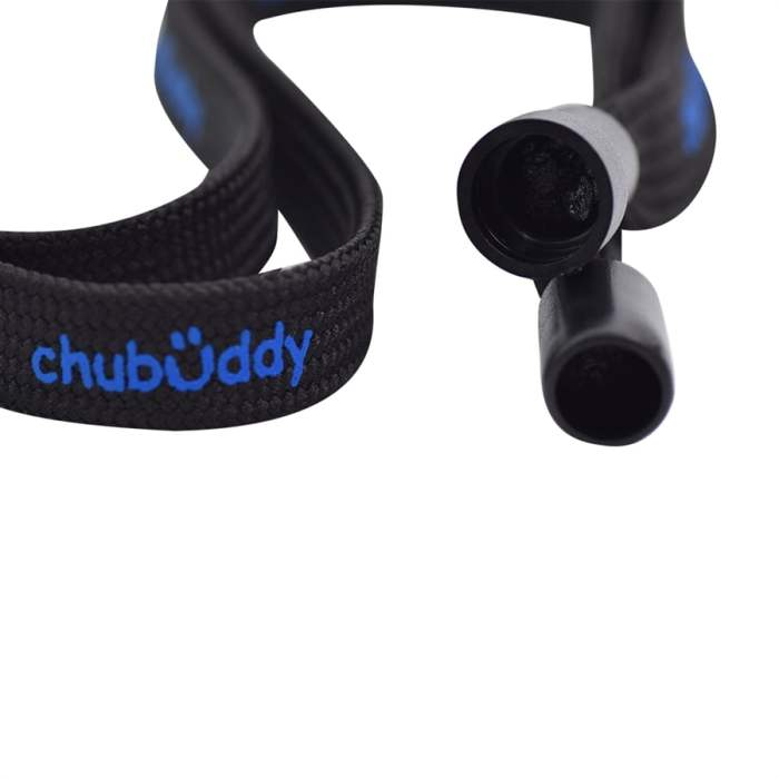 "cHu-buDDy 16"" Neck Tether & Strap in Black"