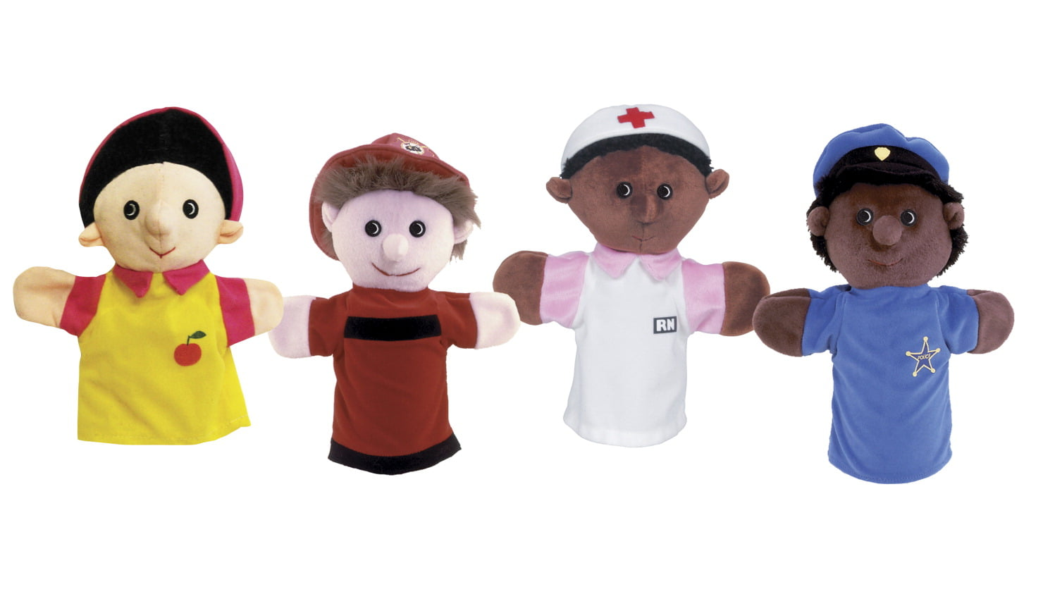 Childcraft Community Worker Puppet Set
