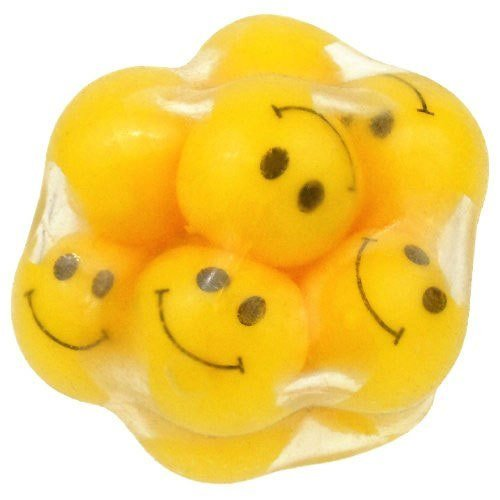 Smiley Face Squeeze Ball