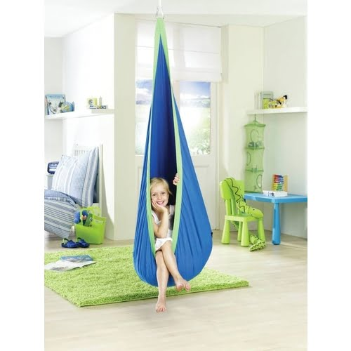 Joki Autism Cuddle Swing in Blue