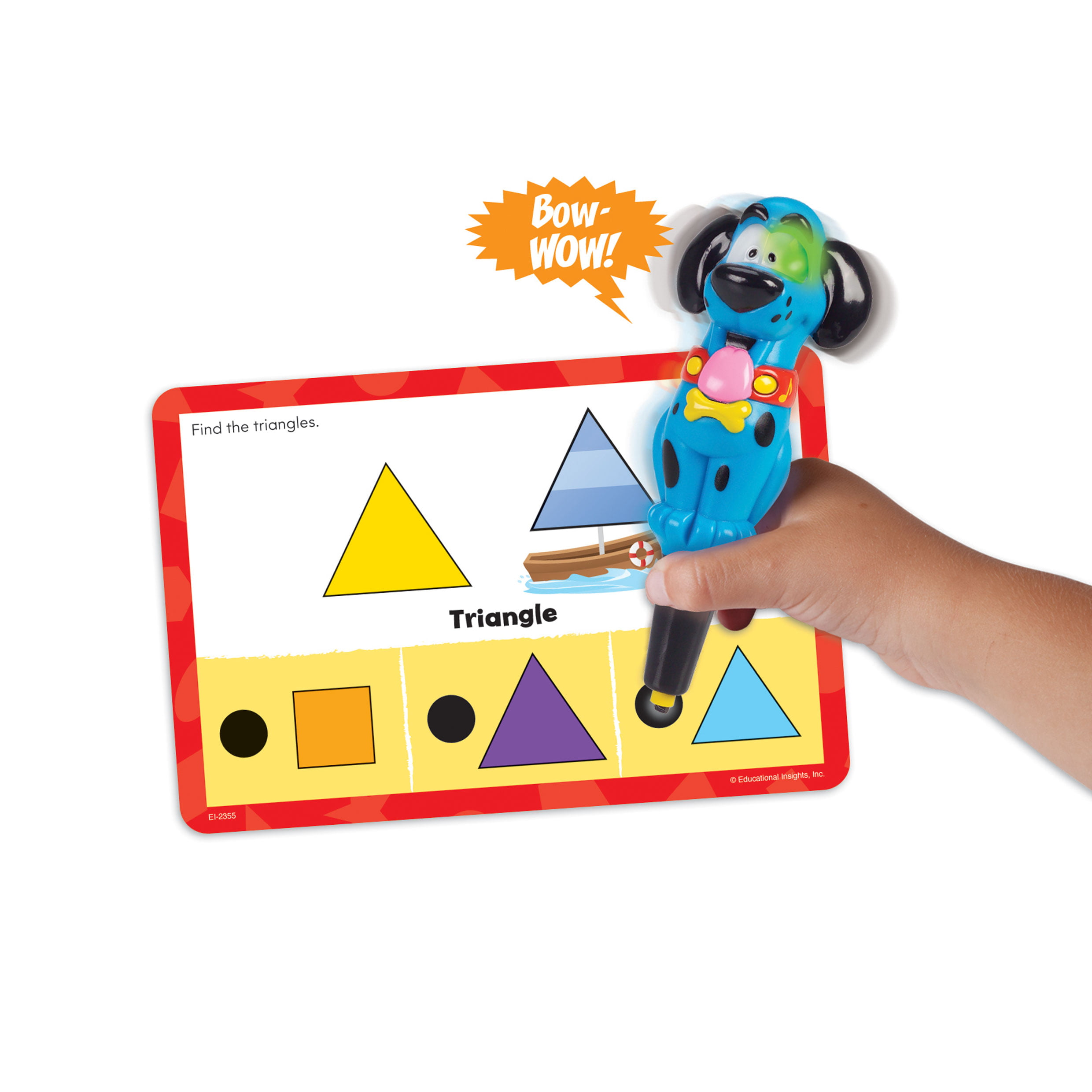 Cards Hot Dots Jr Shapes Set