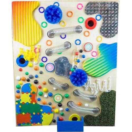 Loopy Tactile Sensory Wall