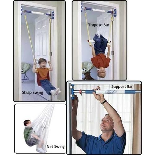 Rainy Day Indoor Doorway Swing System