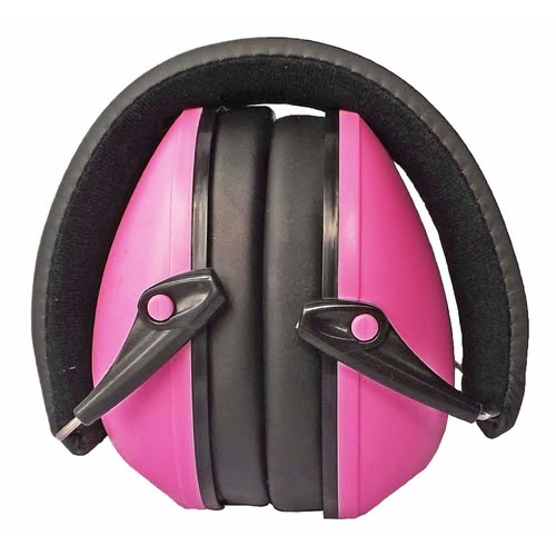 Snug Kid EarMuffs Pink Folded