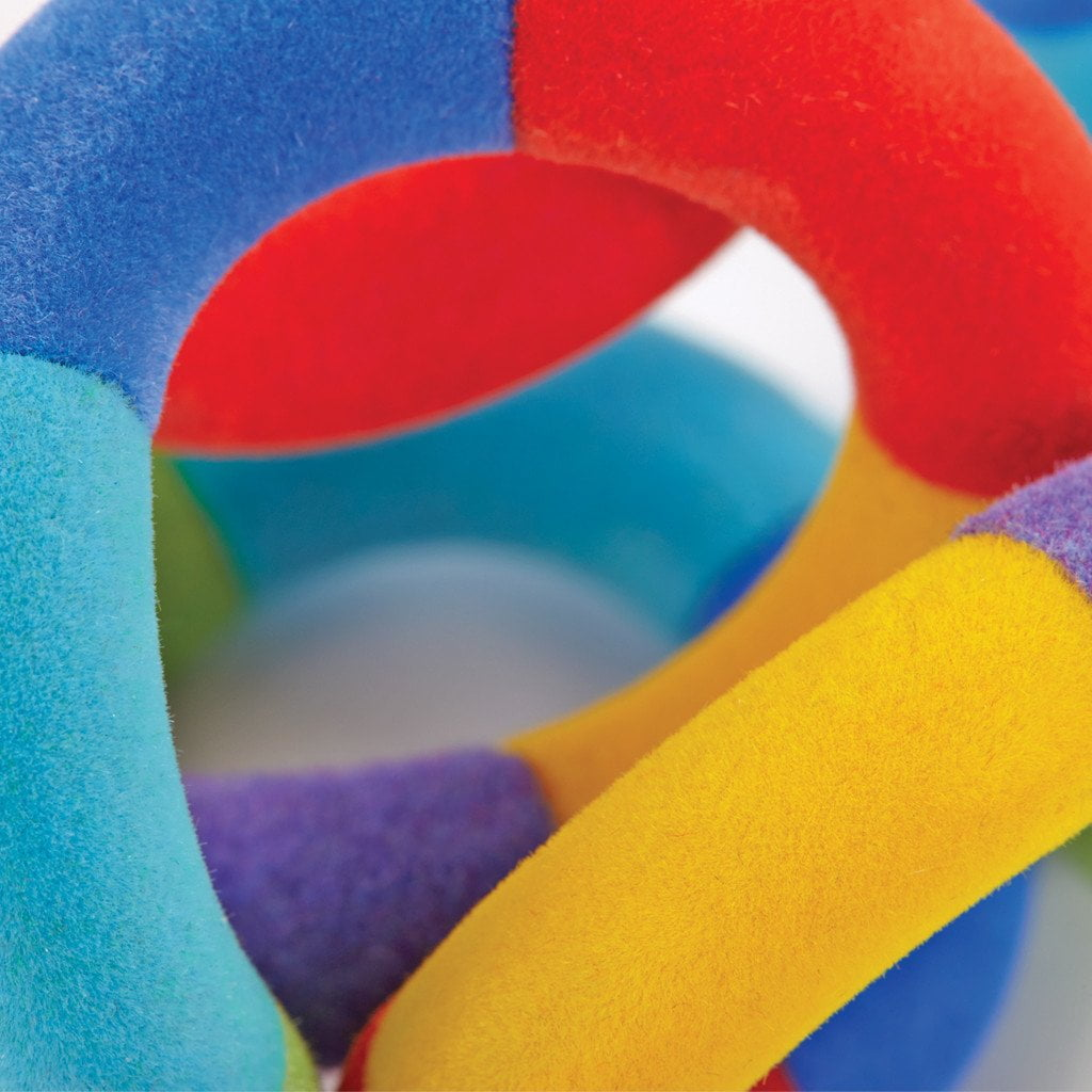 Tangle JR Fuzzies Fuzzy Twist Turn Fidget Toy