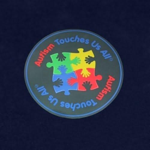 autism awareness car decal dark