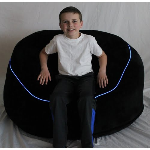 Awesome The Beam Bag Lighted Bean Bag Chair Squirreltailoven Fun Painted Chair Ideas Images Squirreltailovenorg