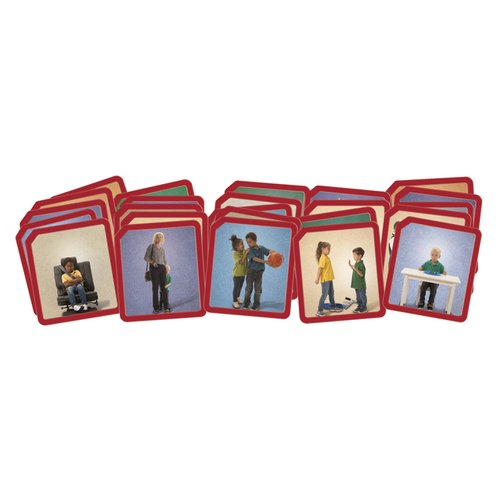 Explore Emotions Photo Cards - Emotion Flash Card - Photo ...