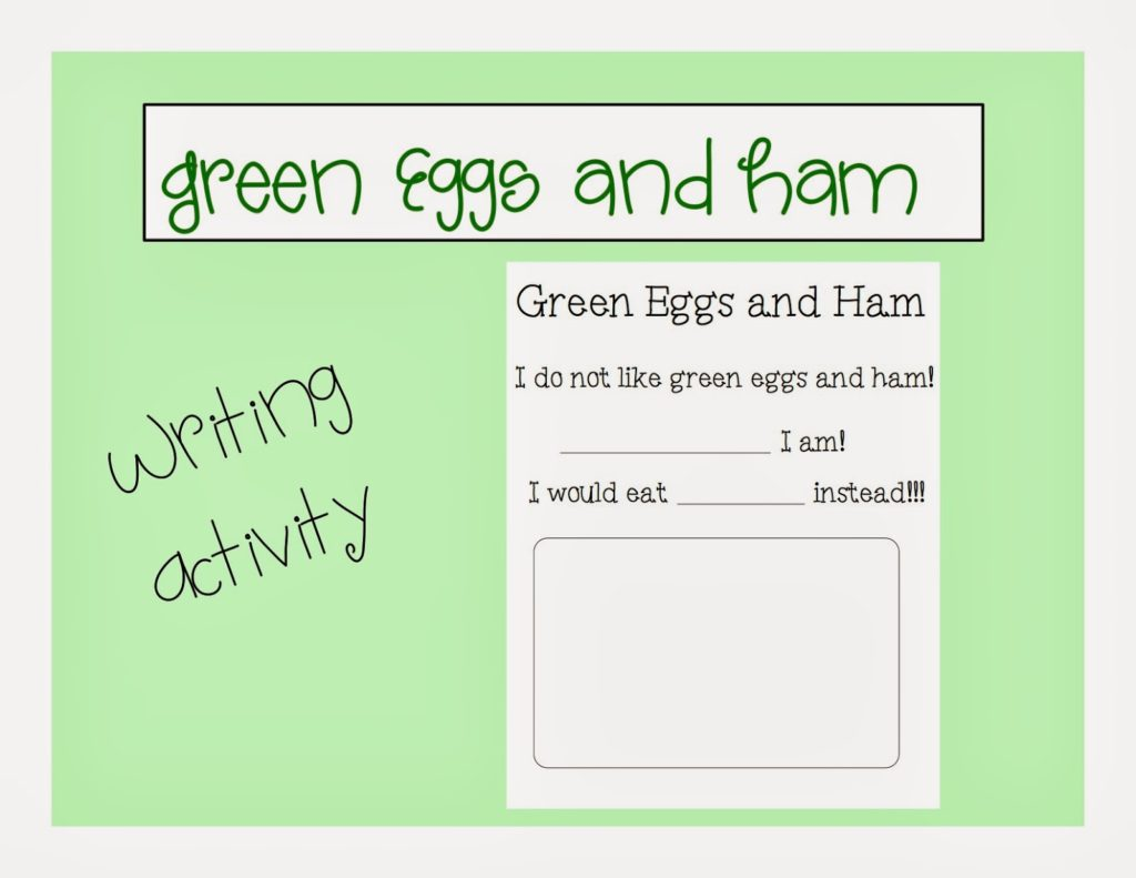 Book Of The Month Green Eggs And Ham Autism Adventures