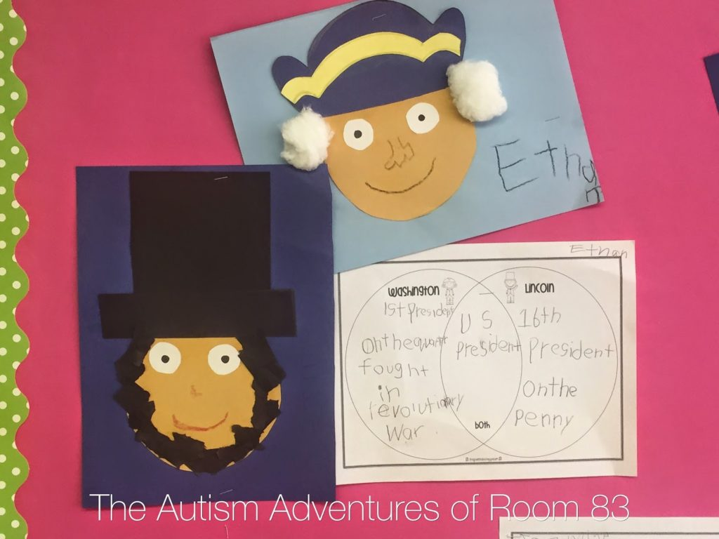 Presidents Day Craft And Writing Autism Adventures