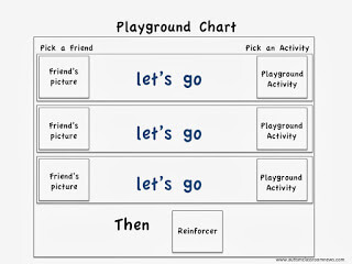 Playground Script for Teaching Asking a Friend to Play in 5 Incidental Teaching Opportunities You Can Create at Recess by Autism Classroom Resources