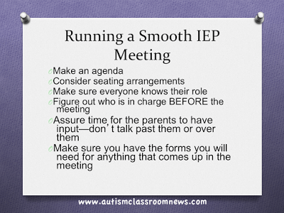 Running a Smooth IEP Meeting: Part 1