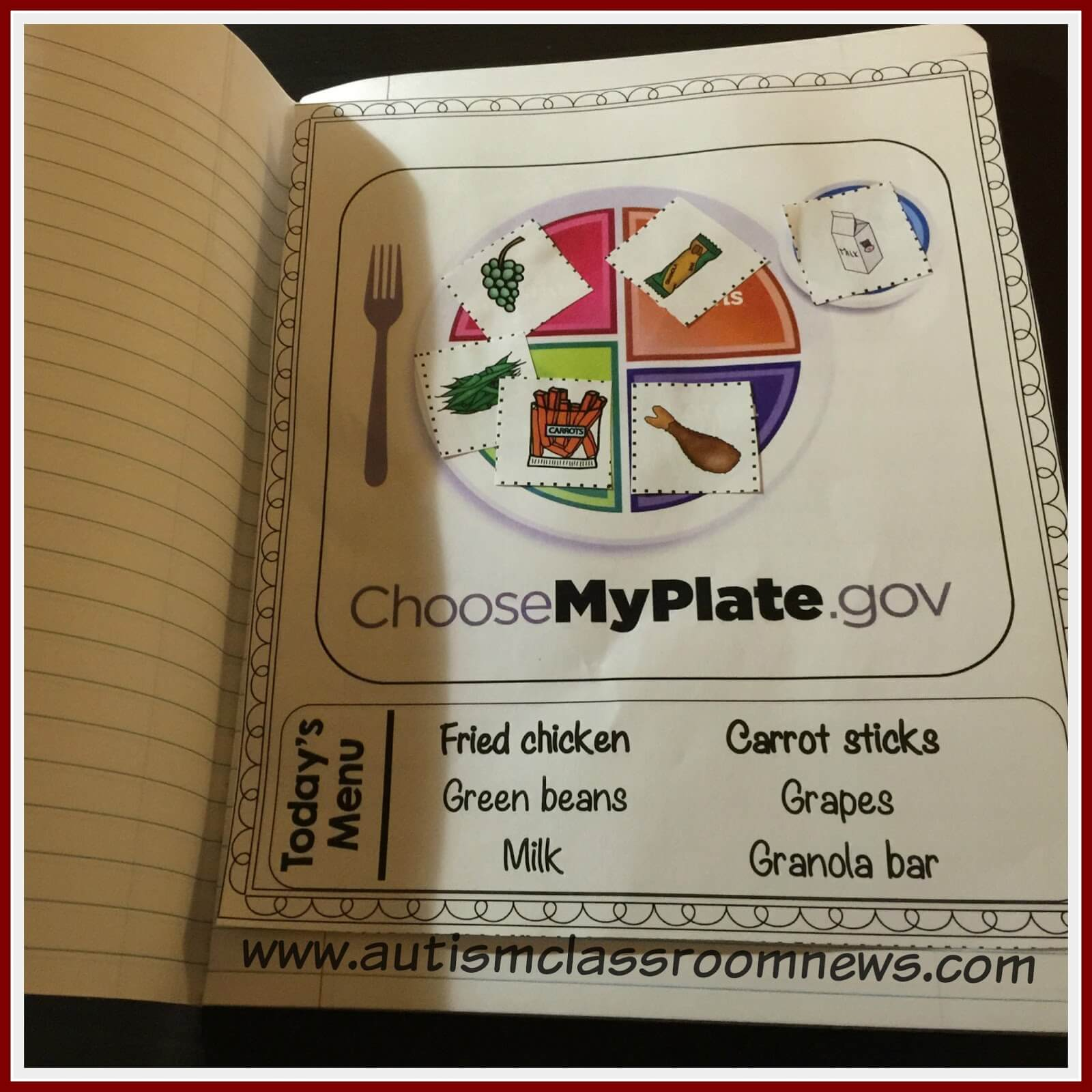 Interactive Materials For Teaching Food Groups And Basic Nutrition