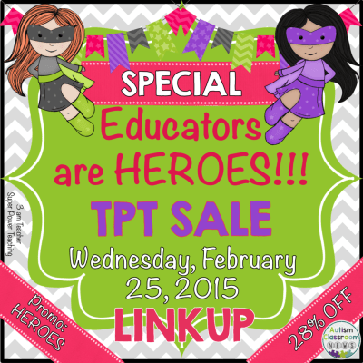 special educators are HEROES TPT SALE