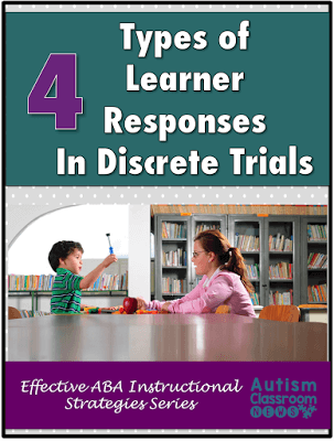 Four Types of Responses in Discrete Trial Instruction