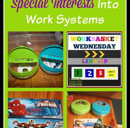 Incorporating Special Interests Into Work Systems: Workbasket Wednesday