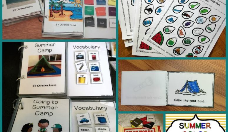 Generalization Activities for teaching colors